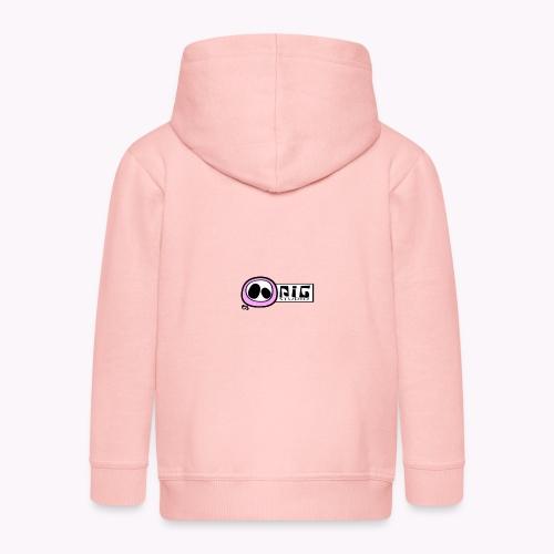 logo_PIGstudio-png - Felpa con zip Premium per bambini