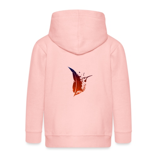 Colibri flamboyant - Veste à capuche Premium Enfant
