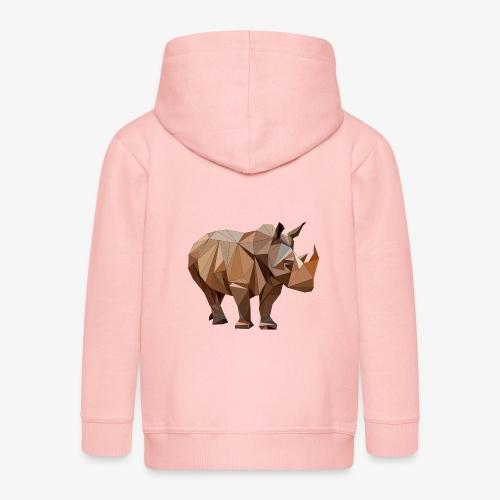 rhino Vcr Fva - Rozpinana bluza dziecięca z kapturem Premium