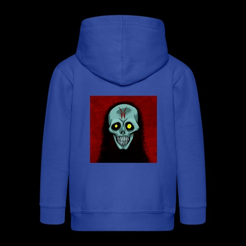 Ghost skull - Kids' Premium Hooded Jacket