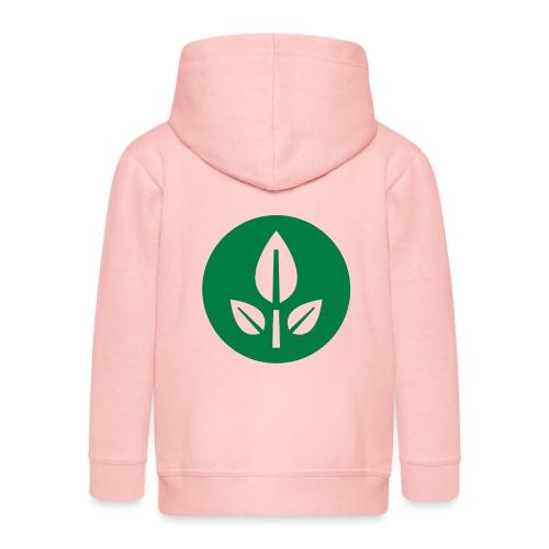 EVE Flower Plant Symbol - Kids' Premium Hooded Jacket