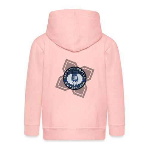 TFS Badge Bleu - Veste à capuche Premium Enfant
