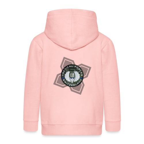 TFS Badge Camo - Veste à capuche Premium Enfant
