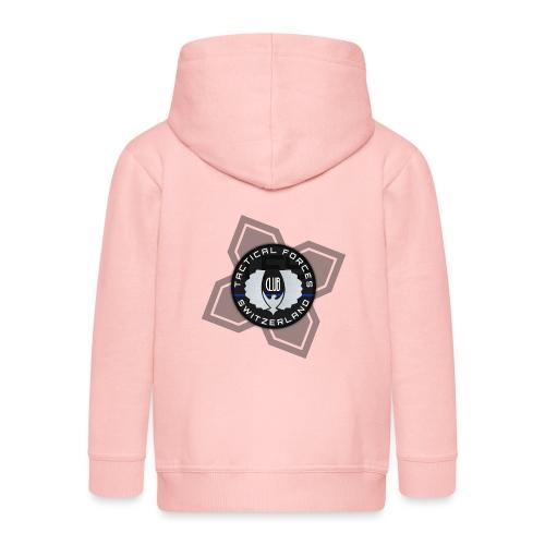 TFS Badge Black - Veste à capuche Premium Enfant