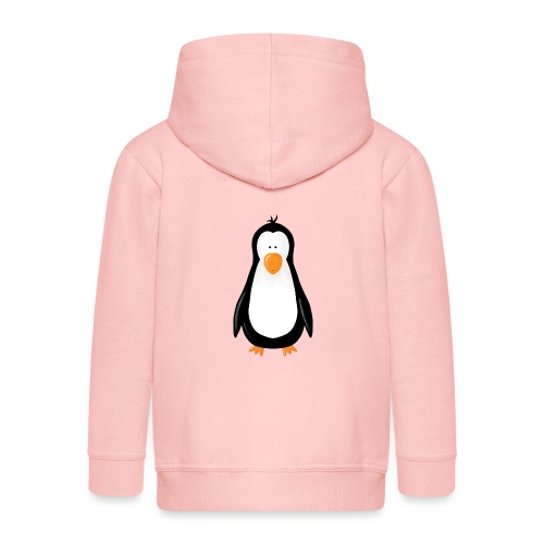 Pinguin Fridolin - Kinder Premium Kapuzenjacke