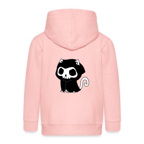 Reaper Katze Miau - Kinder Premium Kapuzenjacke