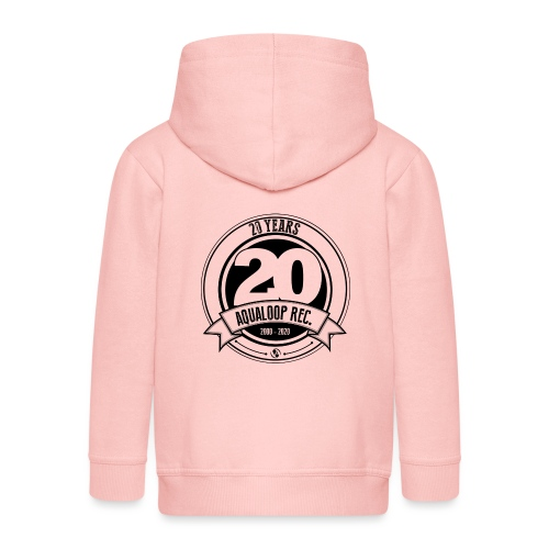 20Y Aqualoop Records - Kids' Premium Zip Hoodie