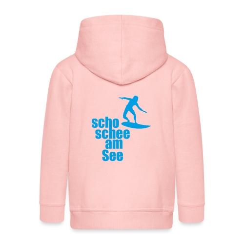 scho schee am See Surfer 04 - Kinder Premium Kapuzenjacke