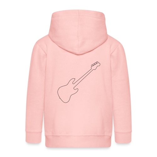 J Bass Line - Kids' Premium Hooded Jacket