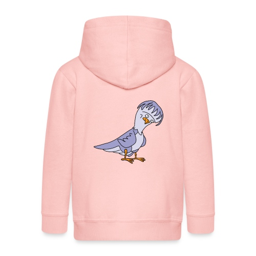 Taube von dodocomics - Kinder Premium Kapuzenjacke