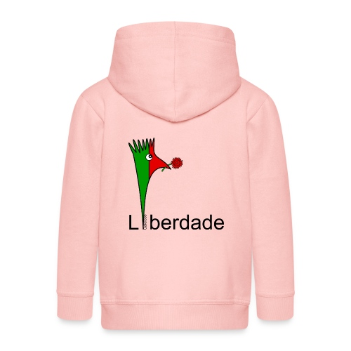 Galoloco - Liberdaded - 25 Abril - Kids' Premium Hooded Jacket