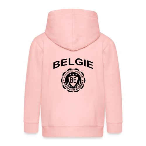 België - Kinderen Premium jas met capuchon