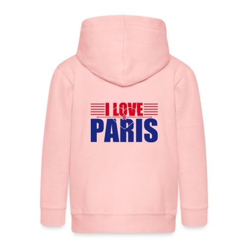 love paris - Veste à capuche Premium Enfant