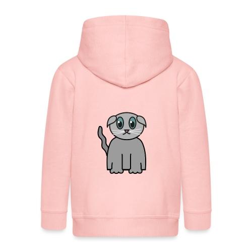 Süßes Kätzchen - Kinder Premium Kapuzenjacke