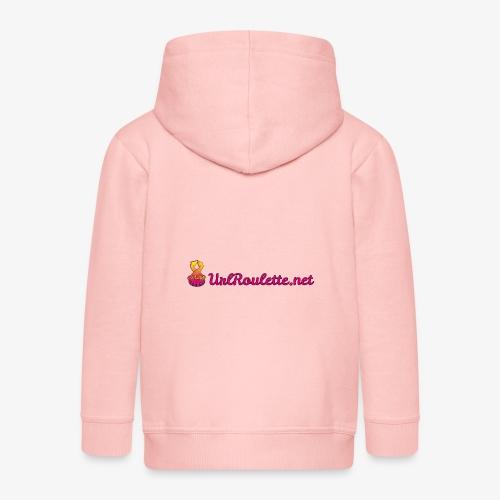 UrlRoulette Logo - Kids' Premium Zip Hoodie