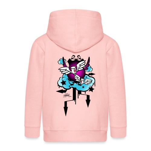 Royal Caps - Graffiti Design - Veste à capuche Premium Enfant
