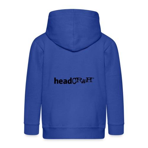 headCRASH Logo black - Kinder Premium Kapuzenjacke