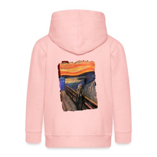 Screaming Tardis - Kids' Premium Hooded Jacket