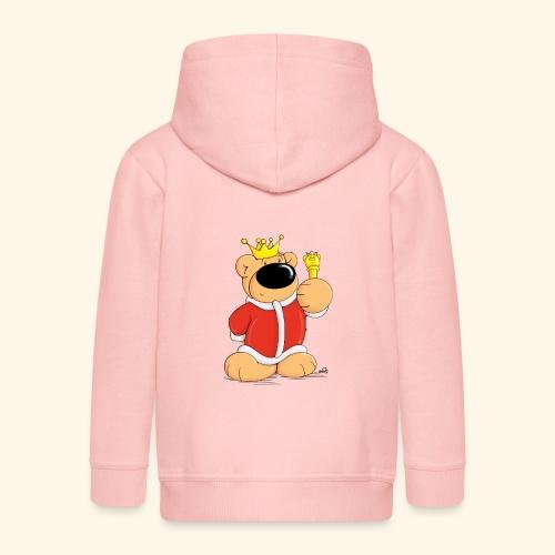 Der Bärenkönig - Kinder Premium Kapuzenjacke
