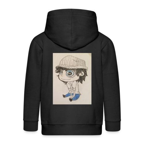 la vida es bella - Chaqueta con capucha premium niño