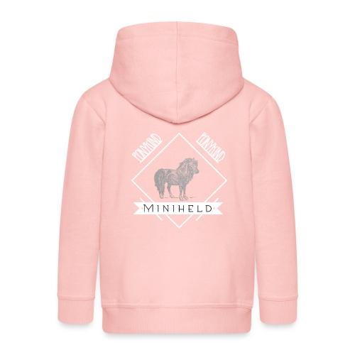 Pony Miniheld - Kinder Premium Kapuzenjacke