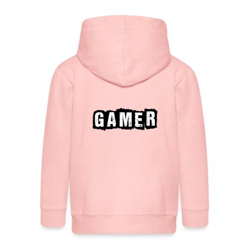 D 40 Gamer - Kinder Premium Kapuzenjacke