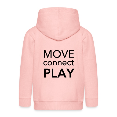 Move Connect Play - AcroYoga International - Kids' Premium Hooded Jacket