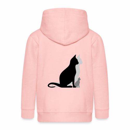 Les troix chats - Veste à capuche Premium Enfant