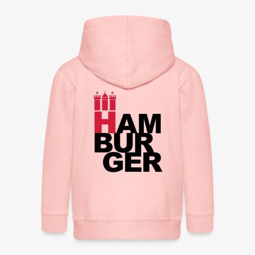 HAMBURGER 2c Hamburg Wappen - Kinder Premium Kapuzenjacke