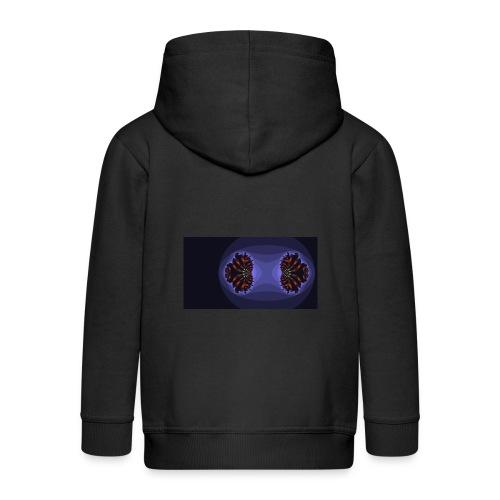 Fractal 0 - Kids' Premium Zip Hoodie