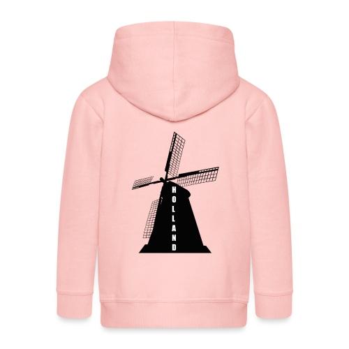 windmuehle Holland - Kinder Premium Kapuzenjacke