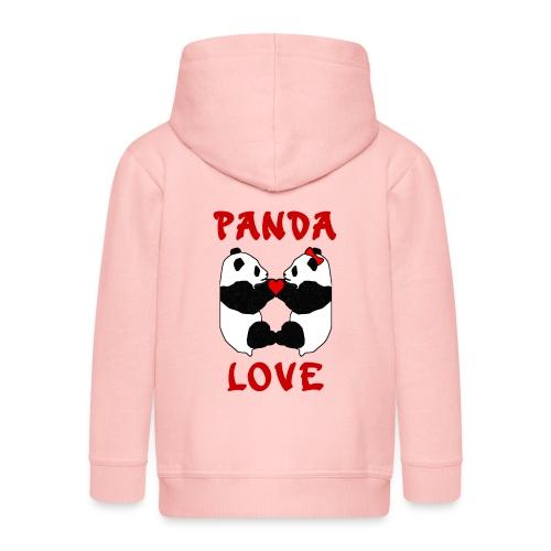 Panda Love - Kids' Premium Hooded Jacket