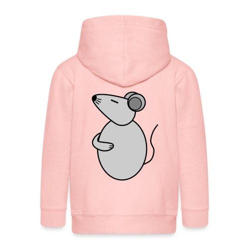 Rat - just Cool - c - Kids' Premium Hooded Jacket