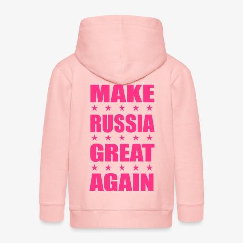 Make RUSSIA Great Again Russland Rossija - Kinder Premium Kapuzenjacke