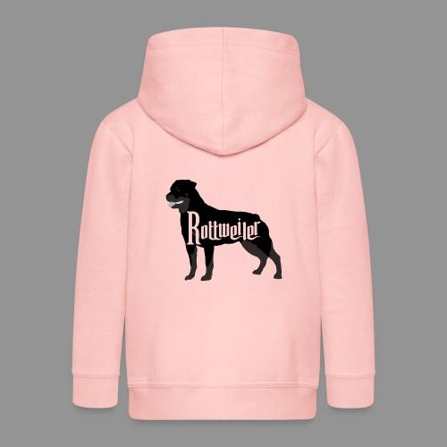 Rottweiler - Kids' Premium Zip Hoodie