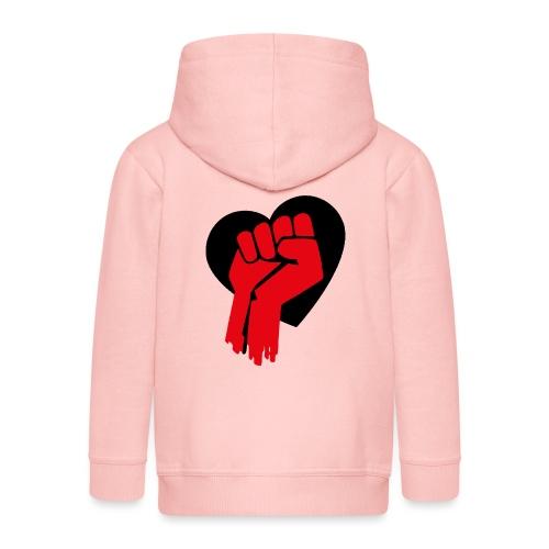 Love Fist 3 - Kinder Premium Kapuzenjacke