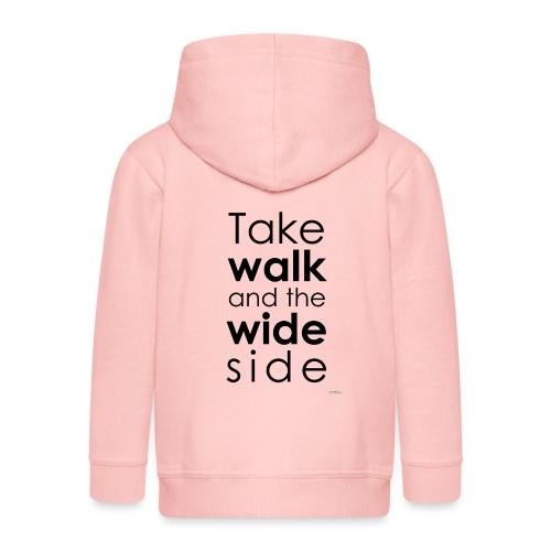 LOU-REDD-walk-black - Veste à capuche Premium Enfant