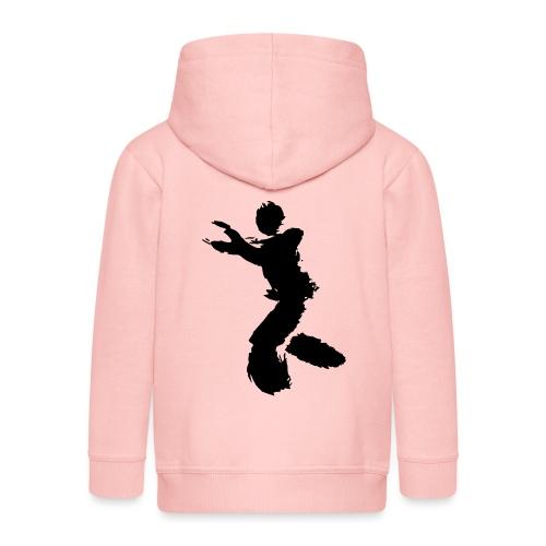 Wing Chun / Kung Fu Tusche Figur VEKTOR - Kids' Premium Hooded Jacket
