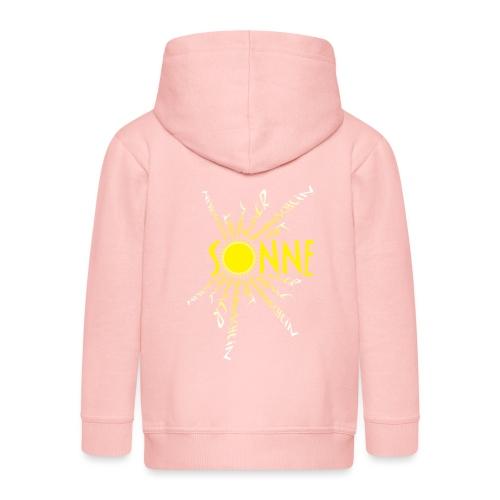 Sonne Sonnenschein - Kinder Premium Kapuzenjacke