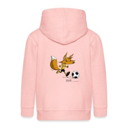 Valmy mascotte - Veste à capuche Premium Enfant