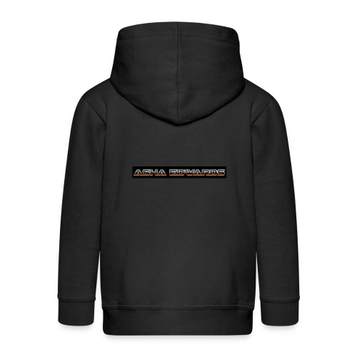 Asha_Edwards_Merch_ - Kids' Premium Zip Hoodie