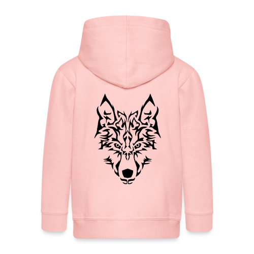 Tribal Wolf - Veste à capuche Premium Enfant