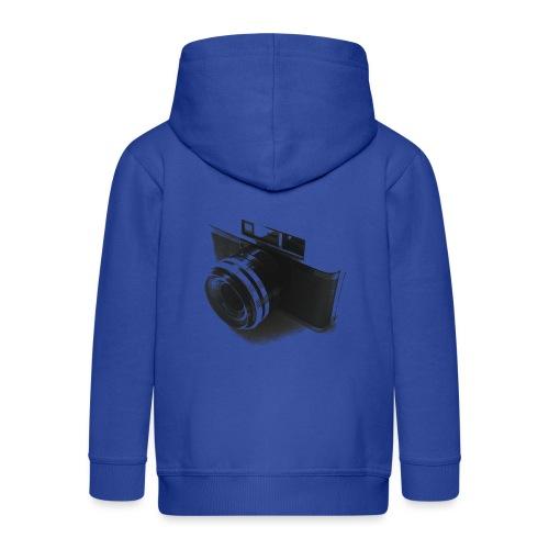 camara (Saw) - Kids' Premium Zip Hoodie