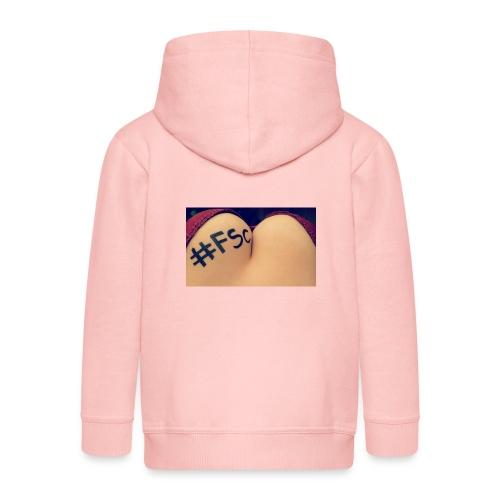 FSC - Rozpinana bluza dziecięca z kapturem Premium