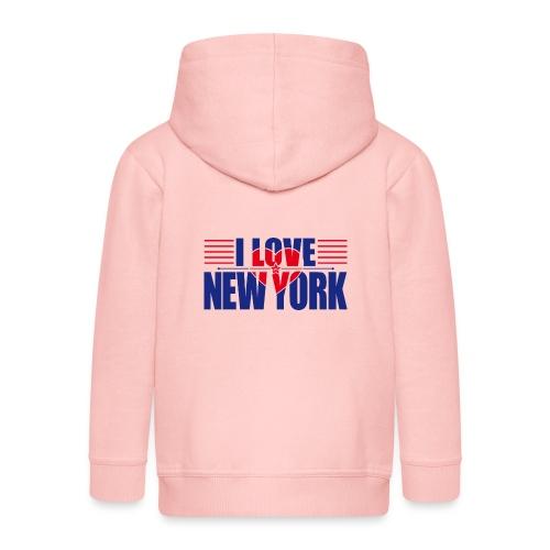 love new york - Veste à capuche Premium Enfant