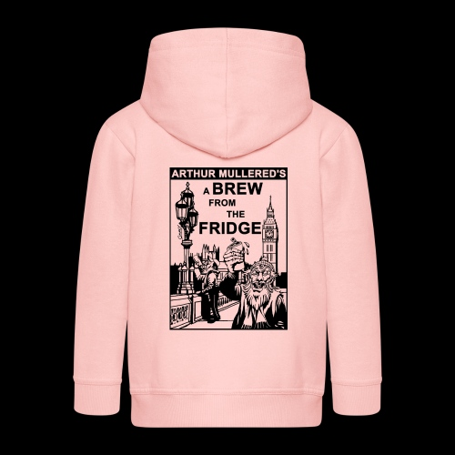 A Brew from the Fridge v2 - Kids' Premium Hooded Jacket