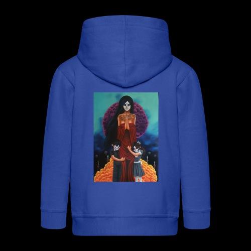 los fieles difuntos - Kids' Premium Hooded Jacket