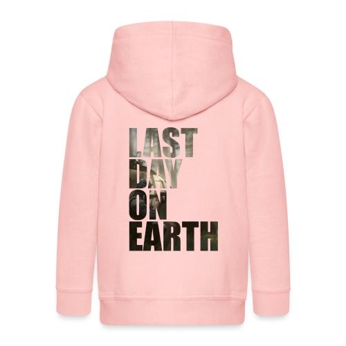Último día en la tierra - Chaqueta con capucha premium niño