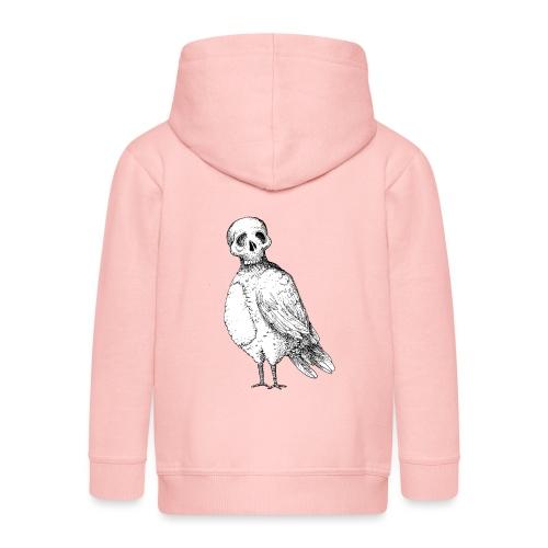 skull bird White alpha - Veste à capuche Premium Enfant