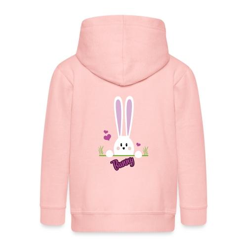 bunny girl - Kinder Premium Kapuzenjacke
